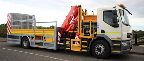 DAF 55/220 Chassis / Cab fitted with Barrier Rig and equipment