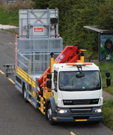 DAF 55/220 Chassis and Cab - Combined IPV and Barrier Rig